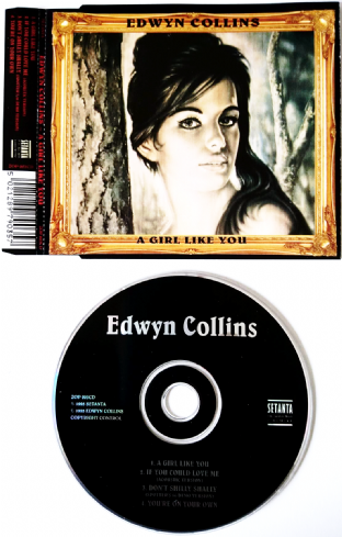 Edwyn Collins - A Girl Like You (CD Single) (VG-/EX)